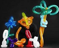 Kinder-Zaubershow, Ballooning